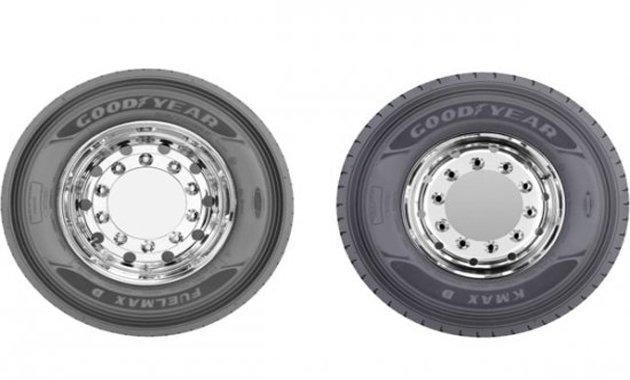 Goodyear представляет шины KMAX и FuelMAX