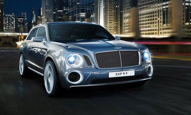 Внедорожник Bentley будет самым дорогим в мире