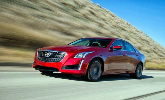 Новый Cadillac CTS представлен на свежих фотографиях