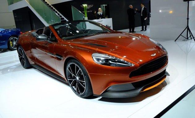Aston Martin на международном автосалоне во Франкфурте