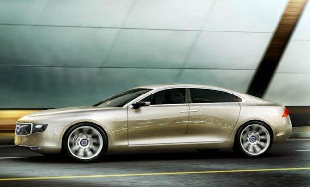 Volvo готовит большой седан — S100