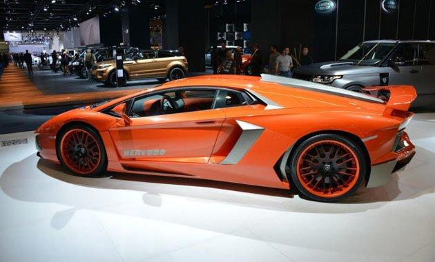 Hamann представляет пакет обновлений для Lamborghini Aventador