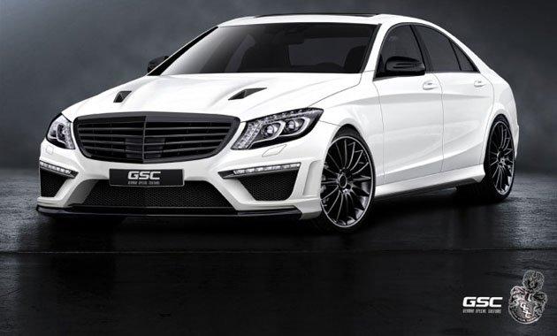 German Special Customs занимается изменениями Mercedes-Benz S-класса