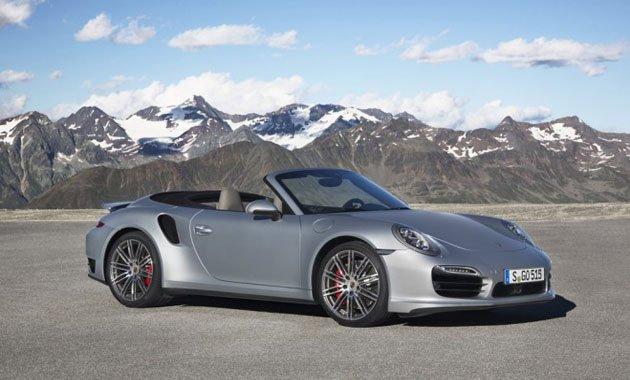 Новый Porsche 911 Turbo Cabriolet — мощный, эффективный и открытый миру