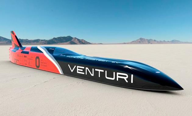 В Venturi Automobiles замахнулись на новый рекорд скорости
