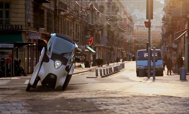 Toyota начнет сборку трехколесного электрокара