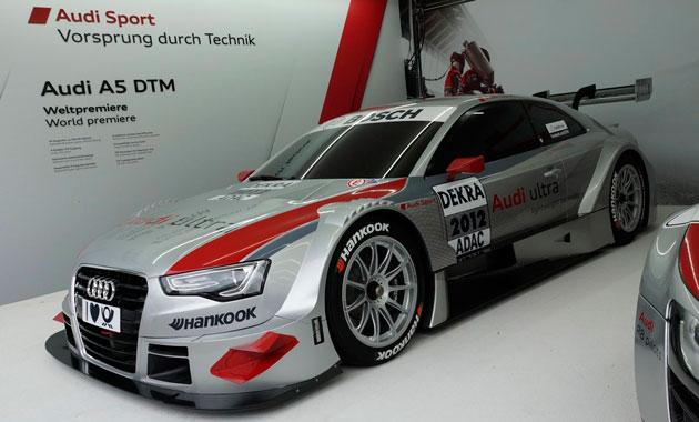 Audi отпраздновала победу в DTM спецверсией «пятерки»