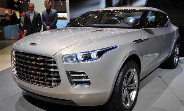Aston Martin получит доступ к платформам Mercedes-AMG