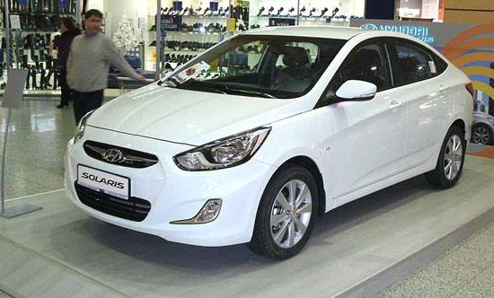 В России реализовано уже свыше 300 тысяч Hyundai Solaris