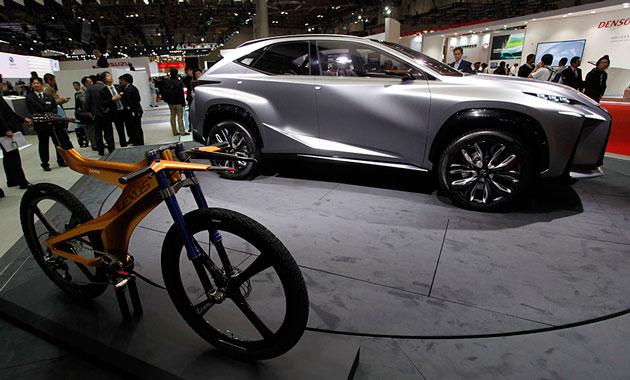 Lexus представляет современный велосипед Neo Extreme Bike