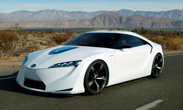 Январское пробуждение нового спорткара Toyota Supra