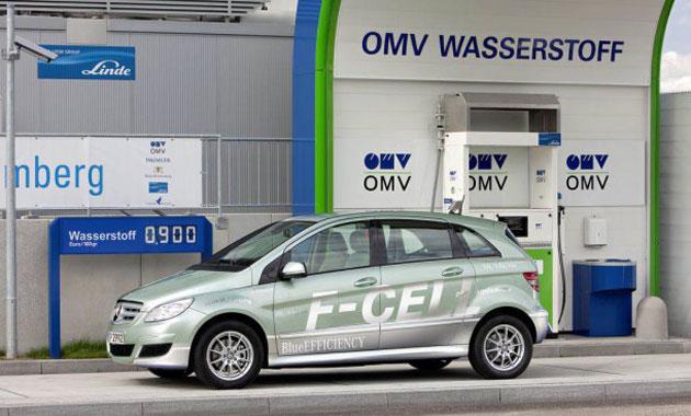 Кроссовер на водородных элементах от Mercedes-Benz
