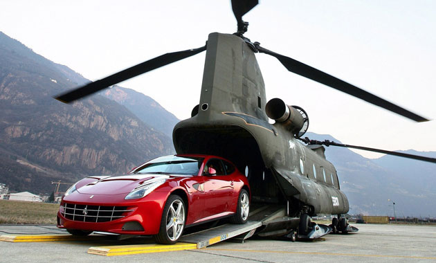 Ferrari ������� � 15 ���������� ��������.