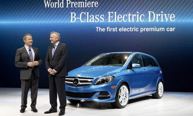 На электромобили «Mercedes» поставят безопасные колеса.