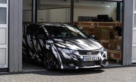Компания Honda показала свой Civic Type R