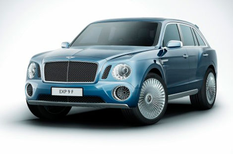 Bentley EXP 9 F.