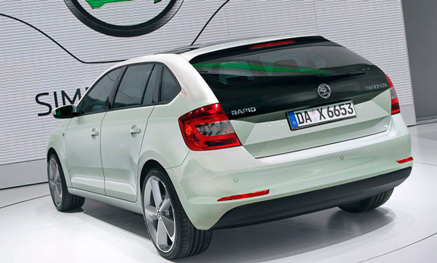 Skoda Rapid Spaceback цена