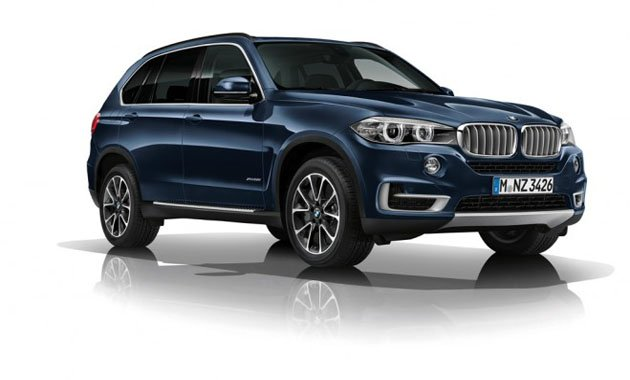 Бронированный BMW Concept X5 Security Plus