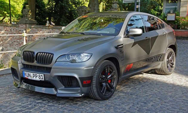 BMW X6 M с тюнингом Cam Shaft и PP-Performance